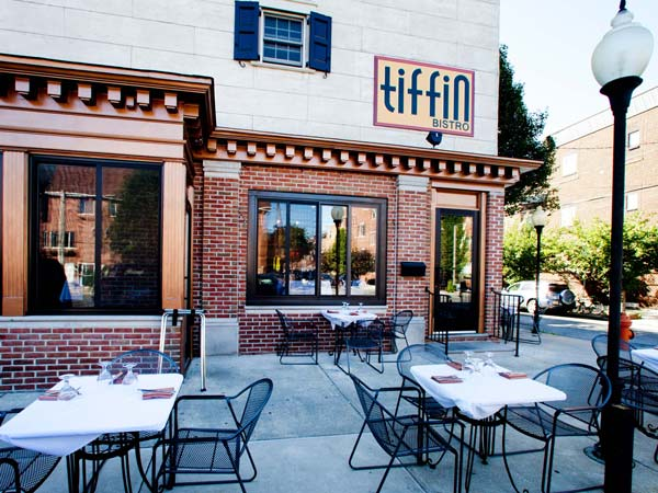 Tiffin Bistro at 11th and Federal is being reflagged as a Tiffin. ( DAVID M WARREN / Staff Photographer )