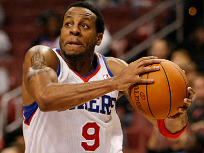Andre Iguodala and Sixers went 3-5 on their road trip. (Michael S. Wirtz / Staff Photographer)