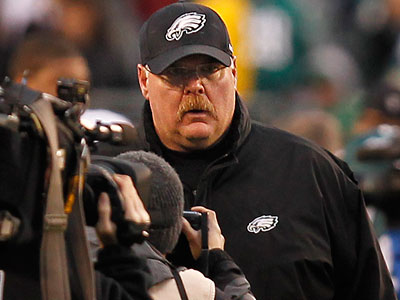 Eagles head coach Andy Reid said he has not thought about his future with the team. (Ron Cortes/Staff Photographer)