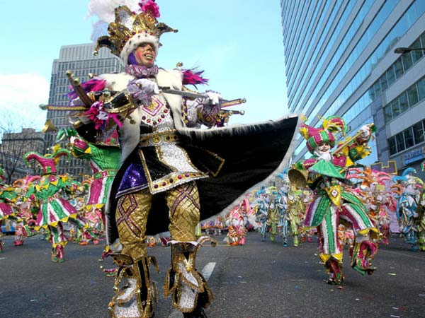 Philadelphia Mummers String Band. (file photo)