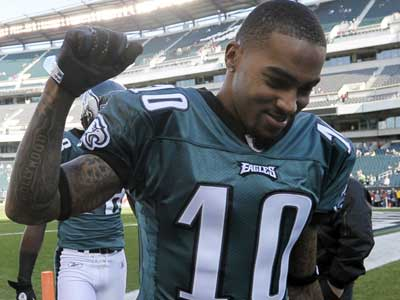 The Eagles have placed the franchise tag on DeSean Jackson. (Michael Perez/AP)