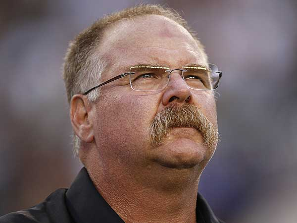 Former Eagles head coach Andy Reid. (David Maialetti/Staff Photographer)