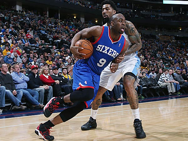 Former 76ers guard James Anderson. (David Zalubowski/AP)