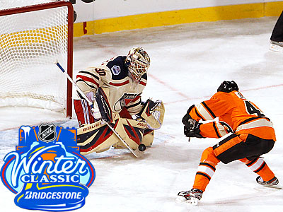 Flyers Fall To Rangers, 3-2, In Winter Classic