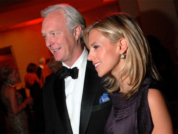 Designer Tory Burch , with her husband in 2005. Christopher Burch´s C. Wonder is the Specialty Accessories Retailer of 2012.
