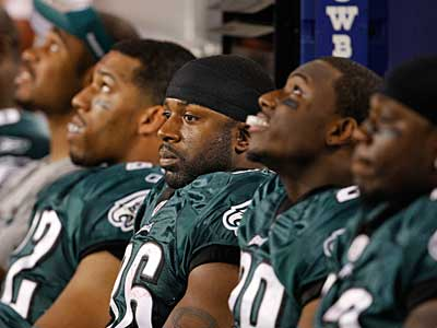 The Eagles were not up to the challenge posed by the Dallas Cowboys on Sunday. (Ron Cortes / Staff Photographer)