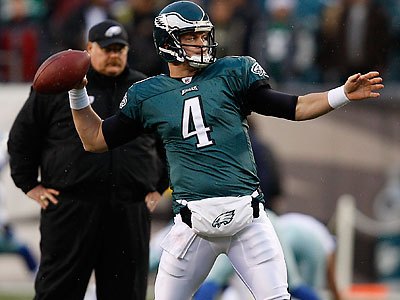 Kevin Kolb lost his starting job after suffering a concussion in the first game of the season. (David Maialetti/Staff file photo)