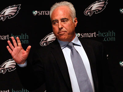 """It´s not enough to just make the playoffs,"" Eagles chairman Jeffrey Lurie said Tuesday. (Laurence Kesterson/Staff Photographer)"