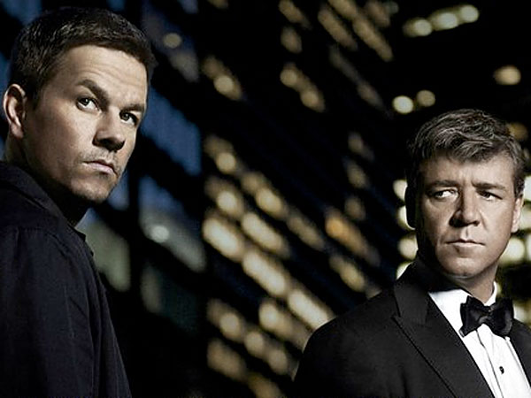 "Mark Wahlberg and Russell Crowe star in ""Broken City."""