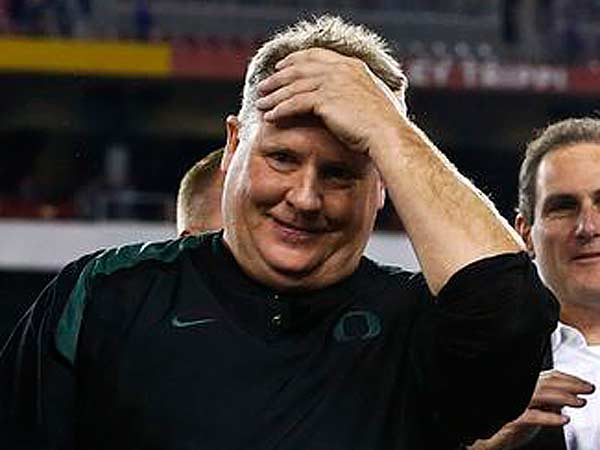 Chip Kelly met with the Eagles for nine hours Saturday. (Ross D. Franklin/AP)
