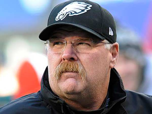 Andy Reid has officially signed with the Kansas City Chiefs. (Bill Kostroun/AP)