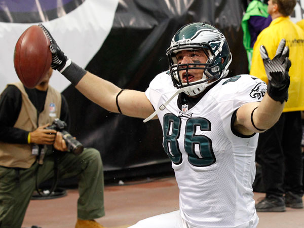 Rookie Ertz a Chip Kelly kind of player