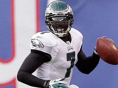 Michael Vick is slated as the Eagles´ 2011 starter, but beyond that, things are up in the air. (Yong Kim/Staff file photo)