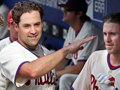 Pat Burrell is close to signing a two-year, $16 million deal with the Tampa Bay Rays. (David Maialetti / Staff Photographer)