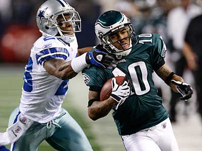 """We´ve just got to keep it in-house and stick together as a team,"" DeSean Jackson said. (Ron Cortes/Staff Photographer)"