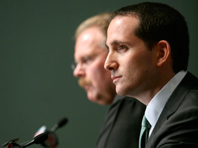 Howie Roseman has been the Eagles´ GM since January 2010. (AP Photo/Mark Stehle)