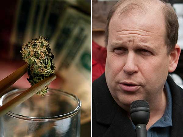 Daylin Leach (D., Montgomery) has authored a bill to legalize marijuana in Pennsylvania. (Ed Hille / Staff Photographer, file)