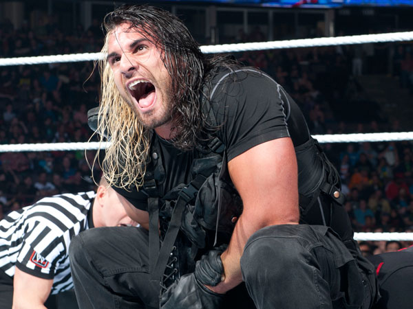 WWE´s Seth Rollins. (Photo courtesy of WWE)