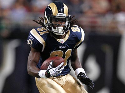 Mardy Gilyard was selected in the fourth round of the 2010 draft by the St. Louis Rams. (Jeff Roberson/AP)