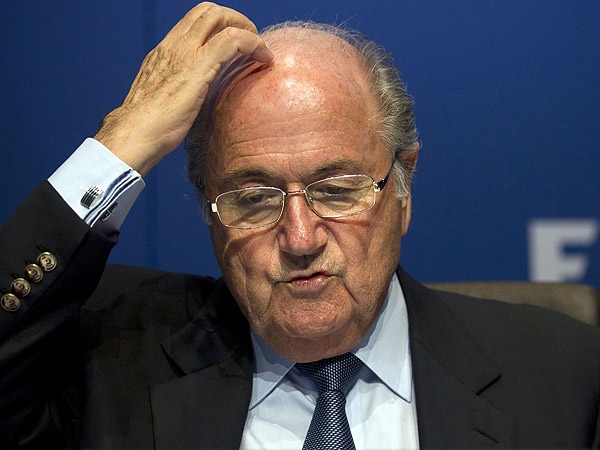 FIFA president Sepp Blatter. (AP file photo)