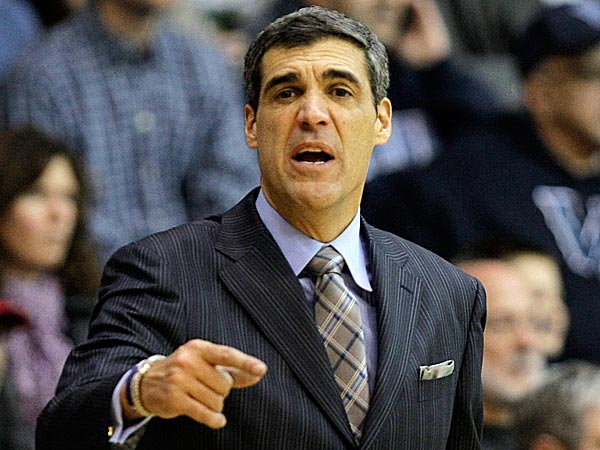 Villanova head coach Jay Wright. (Laurence Kesterson/AP)