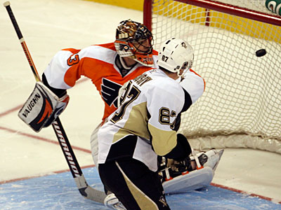 The Flyers lost to the Penguins 3-2 in a shootout on Dec. 17. (Yong Kim/Staff file photo)