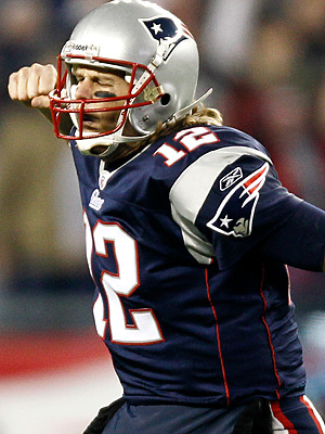 We are heading into the fantasy playoffs with as much momentum as Tom Brady and the Patriots are taking into the real playoffs. (AP Photo/Winslow Townson)