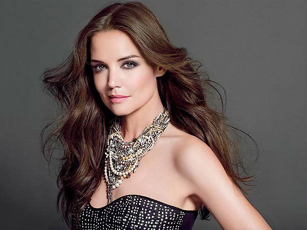 Katie Holmes is the new face of Bobbi Brown Cosmetics.