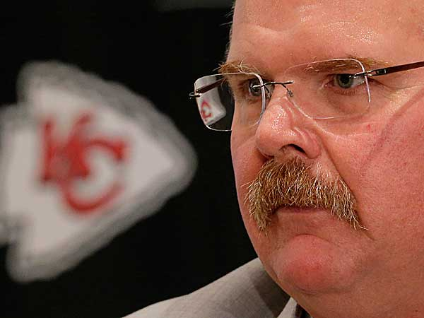 Kansas City Chiefs coach Andy Reid. (Charlie Riedel/AP)