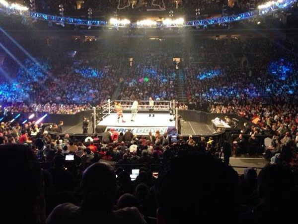 WWE Smackdown at the Wells Fargo Center. (Vaughn Johnson/Staff)