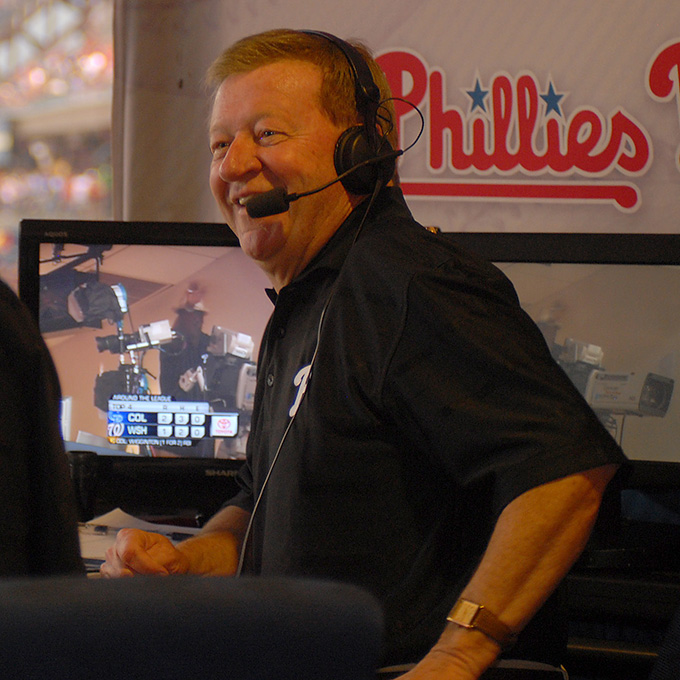 Phillies Broadcast Team News Wheels And Sarge Out
