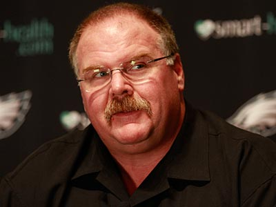 Andy Reid spoke to the media Wednesday morning at the NFL coaches meetings. (David Swanson/Staff Photographer)