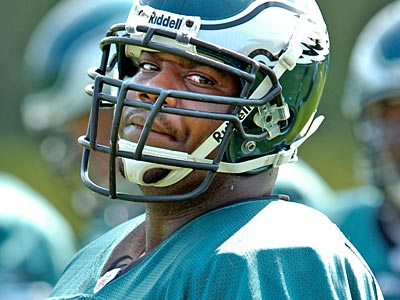 Jamaal Jackson signed with the Eagles in 2003 as an undrafted rookie. (David Maialetti/Staff file photo)