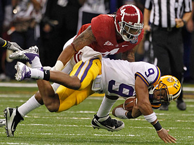 Alabama´s Mark Barron is expected to be the first safety selected. (Dave Martin/AP)