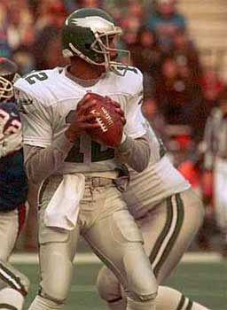 Randall Cunningham is looking for the Eagles to take down the Giants this weekend. (AP / File photo)