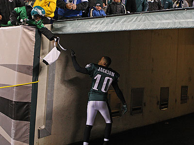 DeSean Jackson nearly won the game again in the fourth quarter. (Ron Cortes/Staff Photographer)