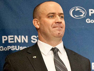 Bill O´Brien now has seven assistant coaches on his staff at Penn State. (Andy Colwell/AP)