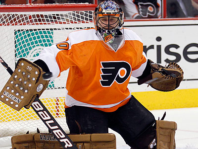 Peter Laviolette has made it clear that Ilya Bryzgalov is still his No. 1 goalie. (Yong Kim/Staff file photo)