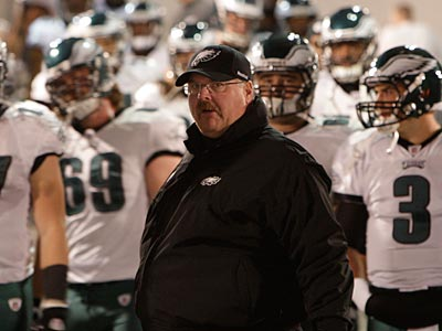 Andy Reid denied a report that he wanted more control over personnel matters. (David Maialetti/Staff File Photo)