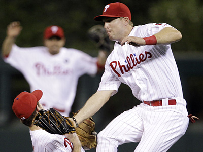 The Phillies have released outfielder John Bowker. (AP Photo/Matt Slocum)