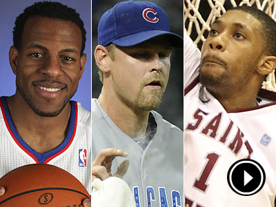 Andre Iguodala, Kerry Wood and the surprising Hawks of St. Joe´s are topics of conversation this week. (Staff and AP Photos)