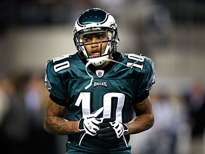 DeSean Jackson said he likes and supports Donovan McNabb, but also likes and supports Kevin Kolb. (David Maialetti / Staff Photographer)