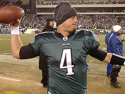 Kevin Kolb wants to be a starting quarterback somewhere in the NFL next season. (Clem Murray/Staff Photographer)