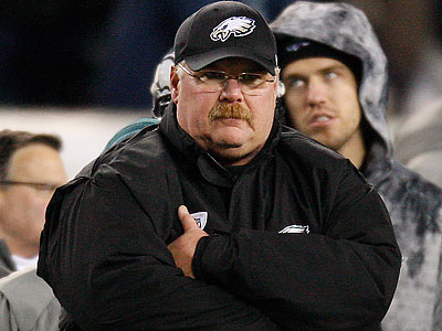 Andy Reid indicated that the Kevin Kolb situation is still in limbo. (David Maialetti/Staff Photographer)