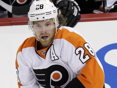 Flyers center Claude Giroux has 18 goals and 30 assists in 37 games. (Gene J. Puskar/AP Photo)