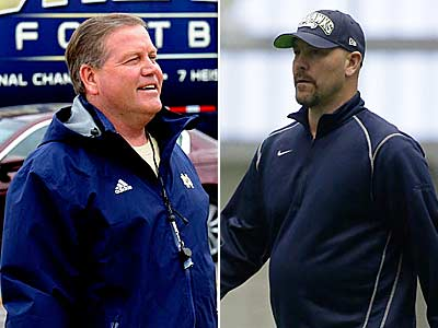 Gus Bradley and Brian Kelly look like the Eagles' top targets n…