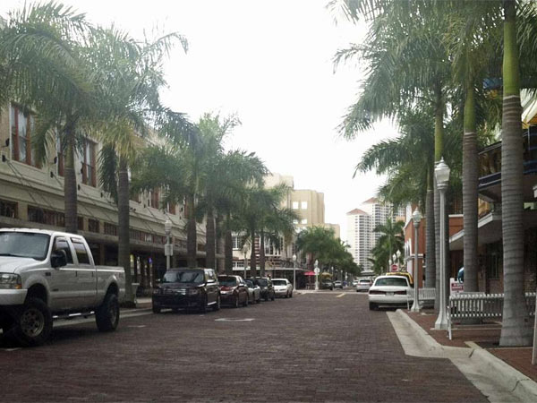 Palm-trimmed streets of downtown Fort Myers, called the River District, offer shops, restaurants, art galleries, walking tours, and more attractions.