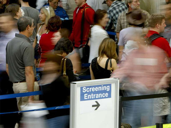 The Transportation Security Administration´s PreCheck program identifies low-risk passengers, who can bypass the long security lines that have become commonplace. (Mark Boster/Los Angeles Times)
