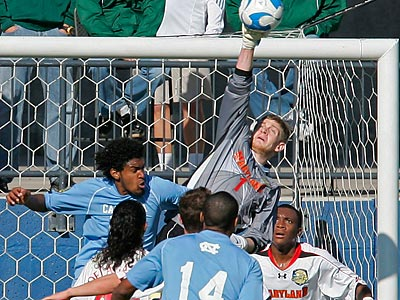 Zac MacMath was the fifth pick in the MLS SuperDraft. (Tim Sharp/AP)