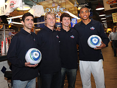 Four top prospects visit the Reading Terminal in advance of the MLS SuperDraft. (Sharon Gekoski-Kimmel/Staff Photographer)